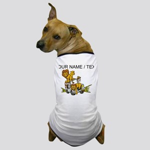 Custom African Lion Safari Dog T-Shirt